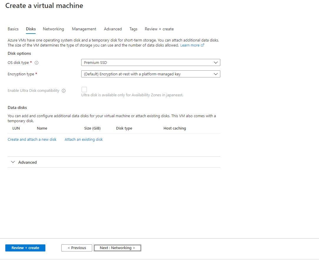 Creating Azure AD joined Virtual Machine - Windows 10 Pro as Jumpbox VM Step 3