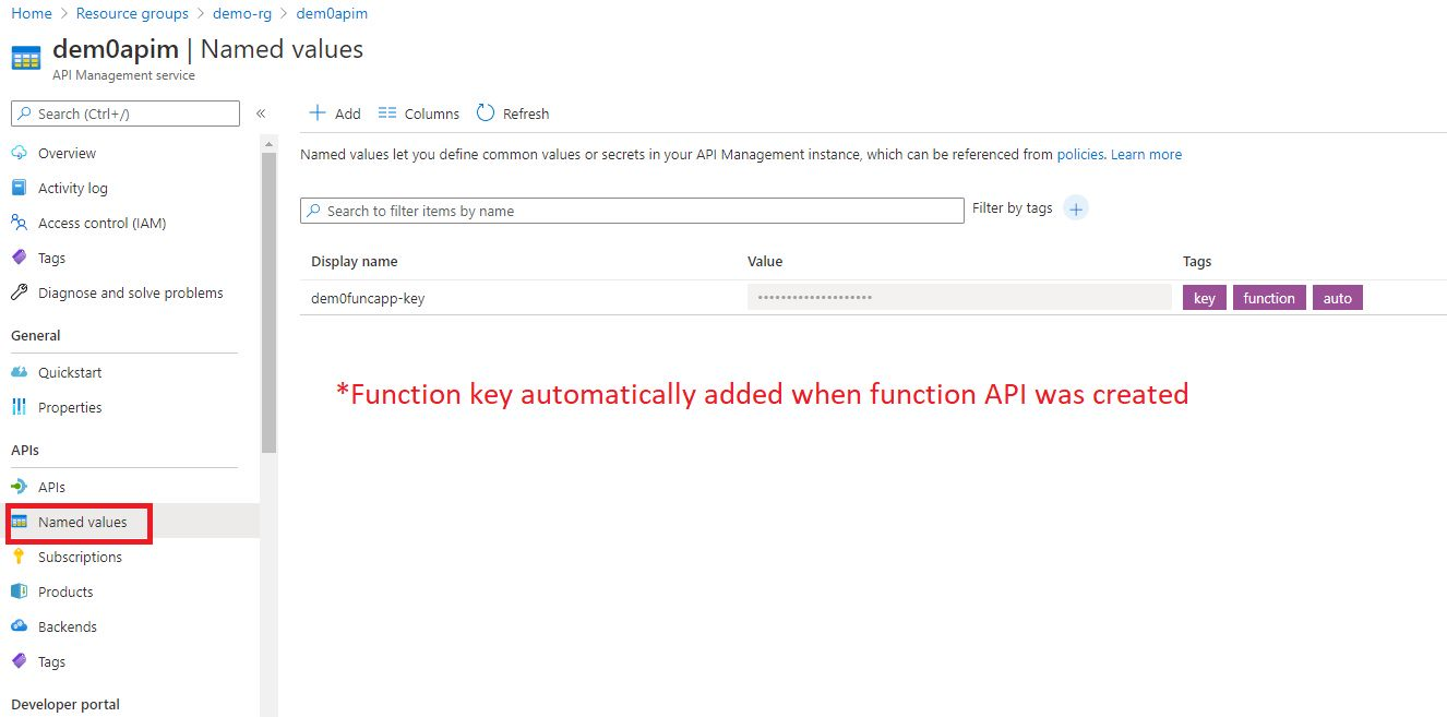 Adding Function API Step 8
