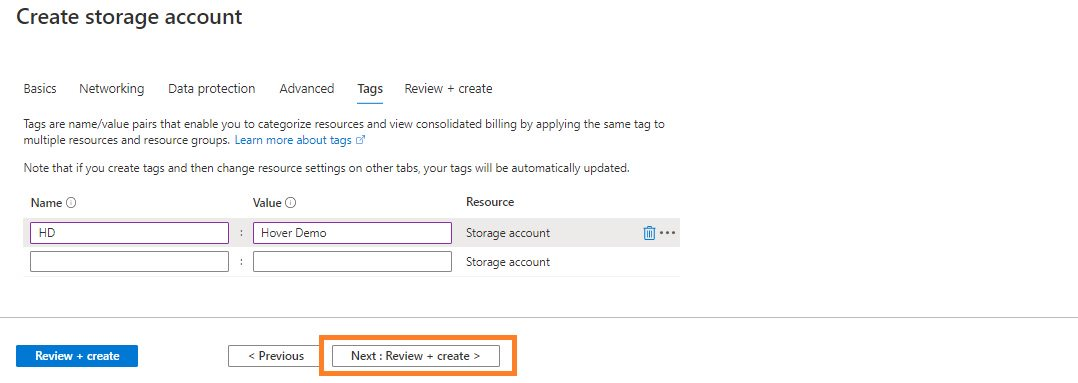 Azure storage - Create general purpose storage account Step 5