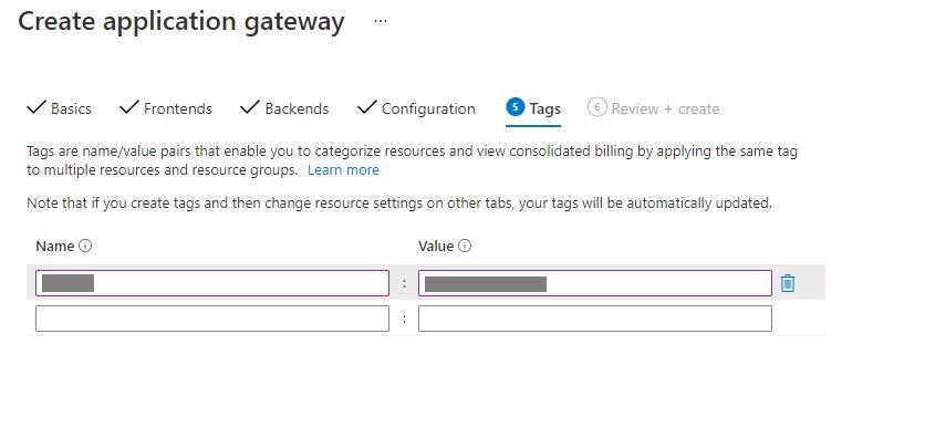Create An Application Gateway In Azure Portal Step 11