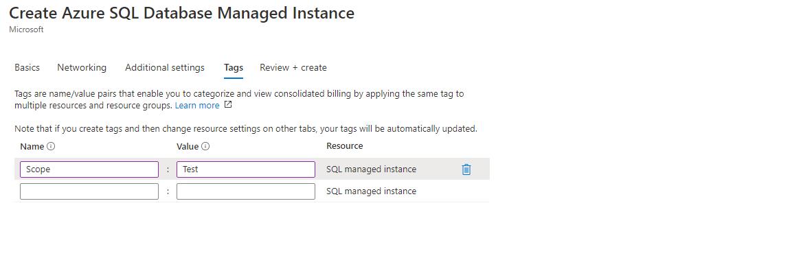 Azure SQL - Managed Instance Step 4