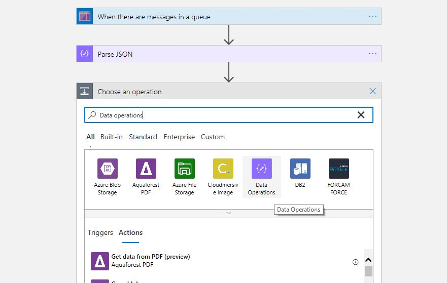 Creating Azure Logic App project in Visual Studio Step 18