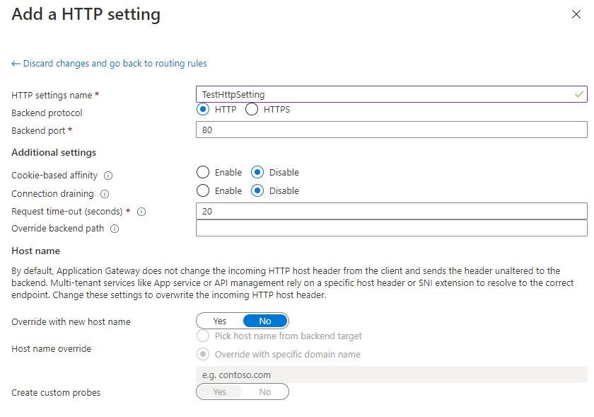 Create An Application Gateway In Azure Portal Step 8