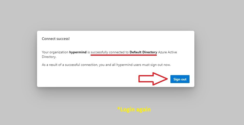 Connecting Azure AD Step 5