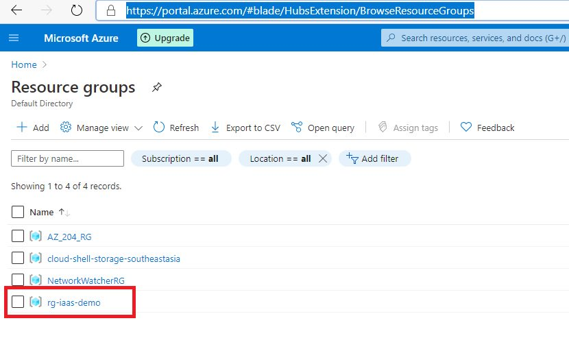 Creating NSG using Azure portal Step 2