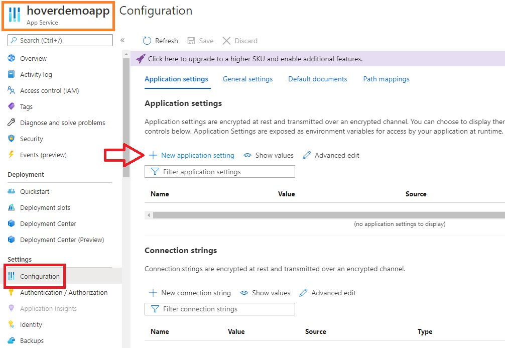 Azure App Service - Using managed identity to access KeyVault secret Step 12