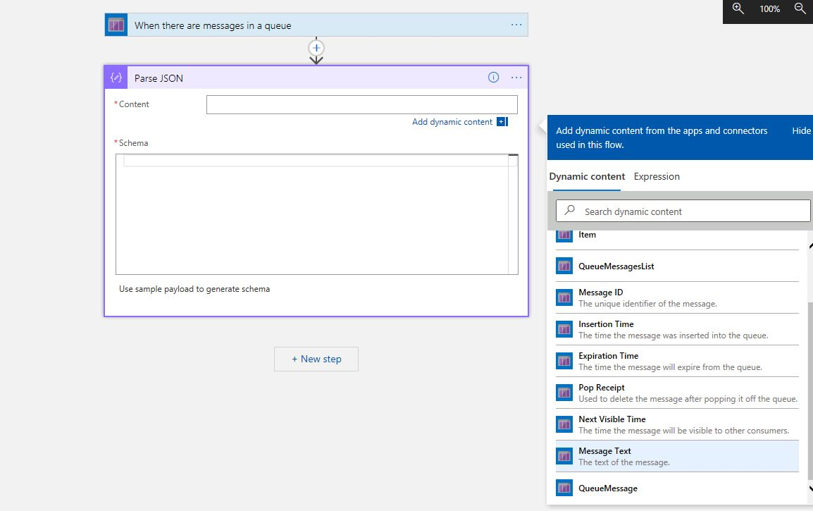 Creating Azure Logic App project in Visual Studio Step 15