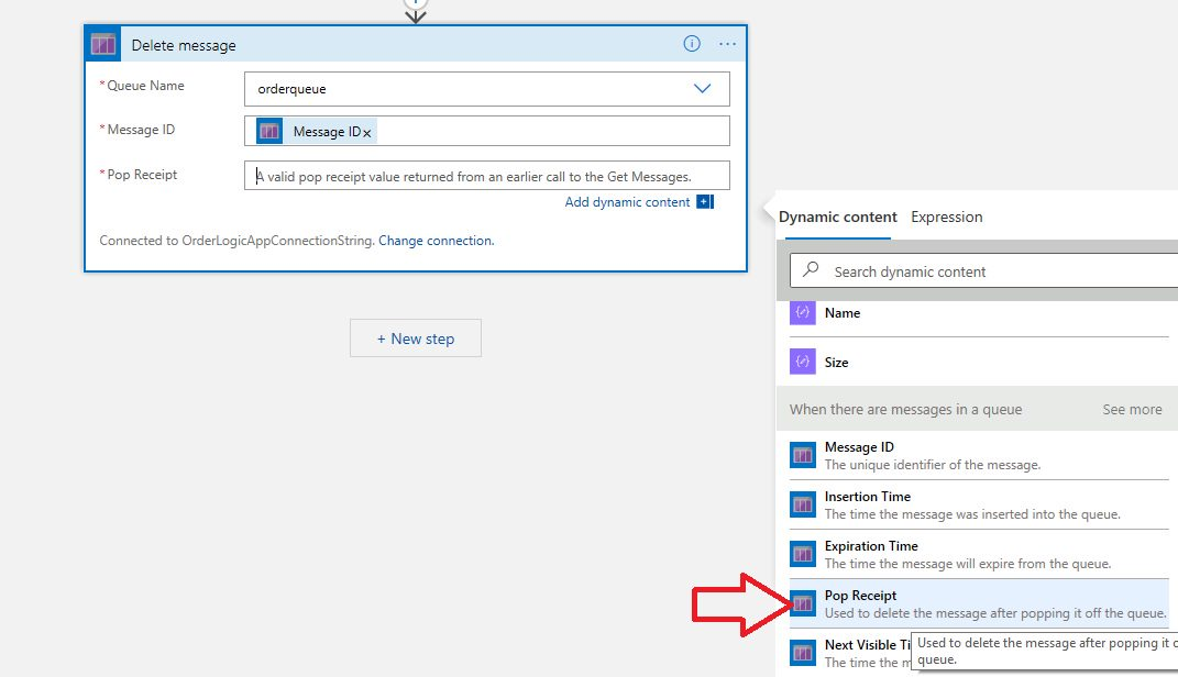 Creating Azure Logic App project in Visual Studio Step 30