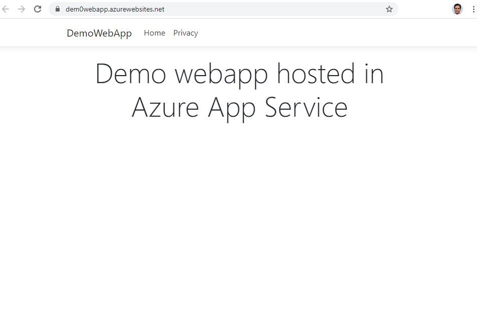 Publishing Web App Project from Visual Studio Step 7