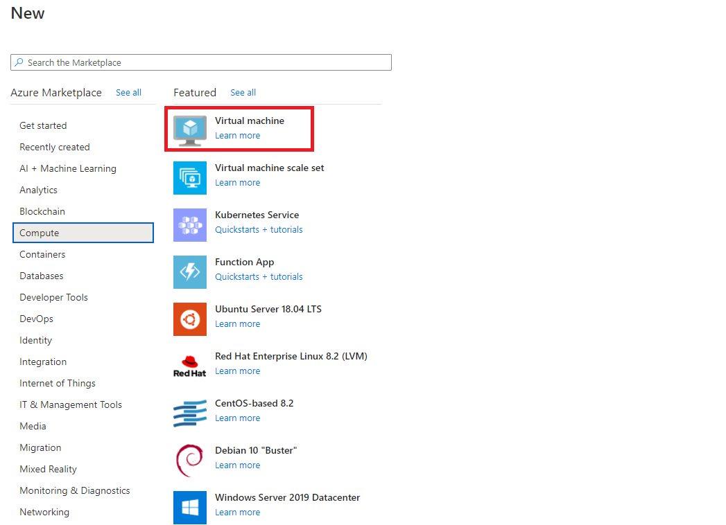 Creating Azure AD joined Virtual Machine - Windows 10 Pro as Jumpbox VM Step 1