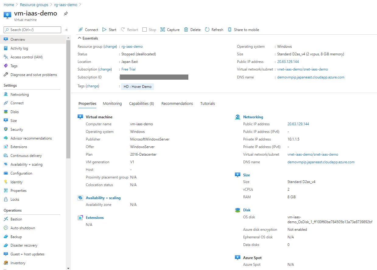 Creating Virtual Machine using Azure portal Step 17