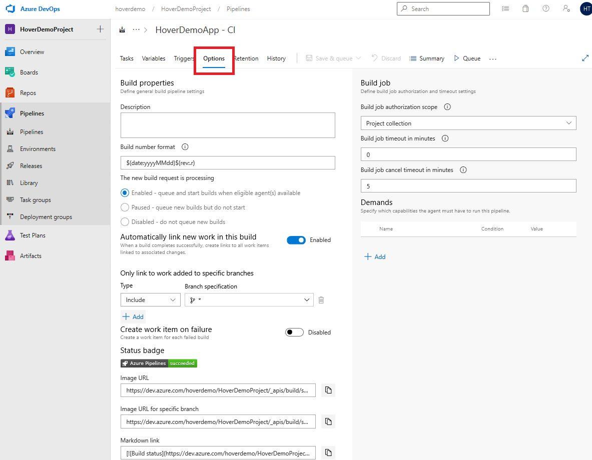 Azure DevOps Starter - Exploring CI pipeline Step 8