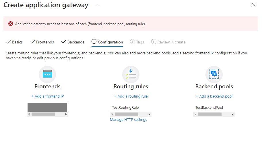 Create An Application Gateway In Azure Portal Step 10