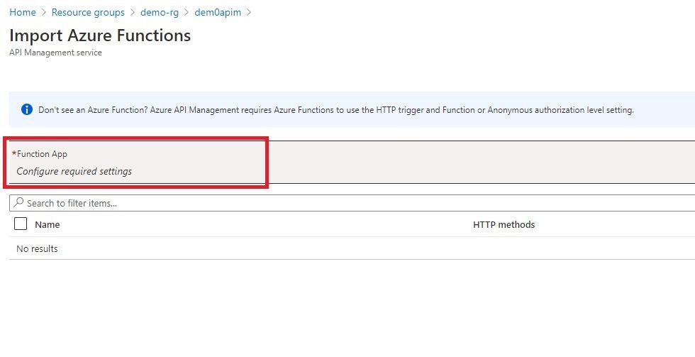 Adding Function API Step 3