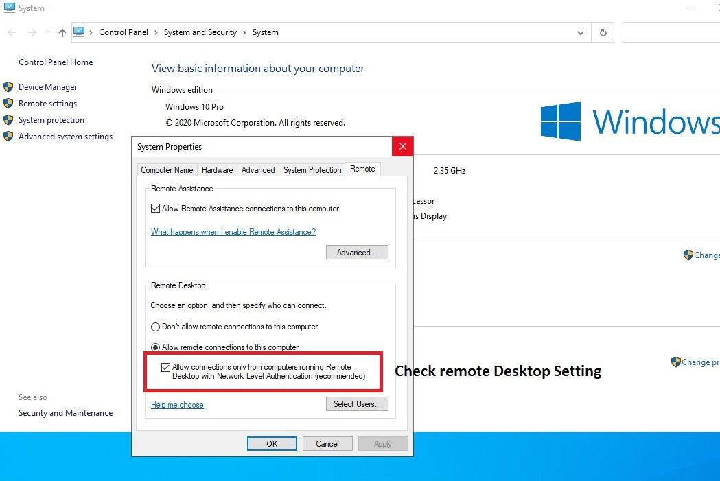 Connecting to Azure AD joined VM Step 1