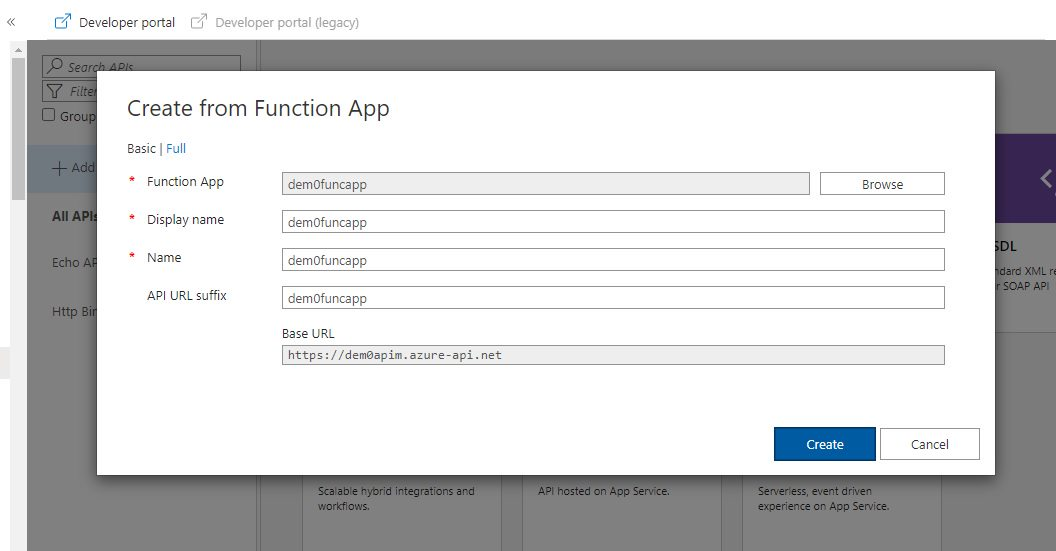 Adding Function API Step 6