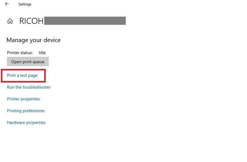 Adding Printer to Azure VM by IP Address Step 11