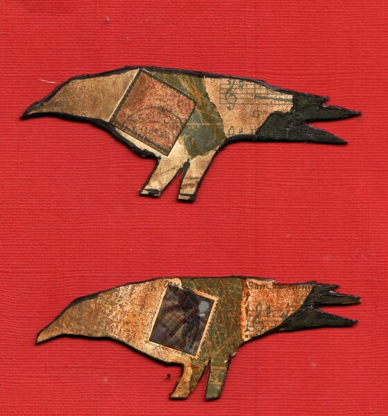 crow collage idea from JenniferConway's