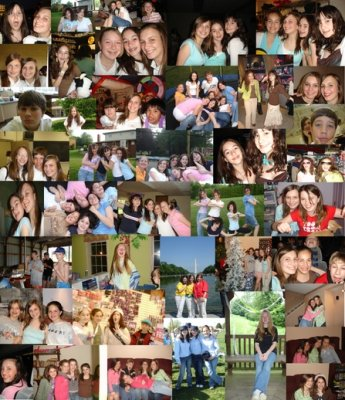 erg veel vrienden en vriendinnen