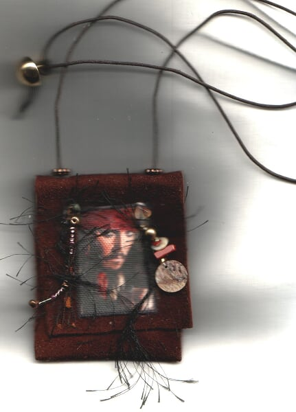jack sparrow leather amulete