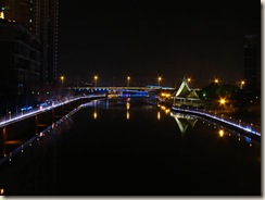 The canal looking south-west, Wuxi.