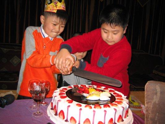 韶山及豆豆生日 139