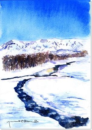 0901北海道雪景色