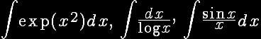 integrais_não_elementares